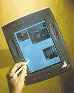 Один из первых планшетных компьютеров