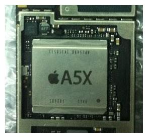 новый процессор от Apple А5Х