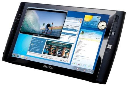 планшет под управлением Windows