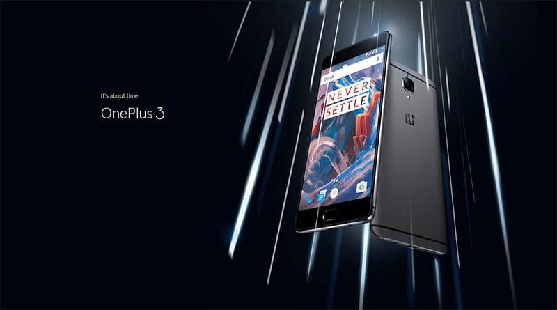 Смартфон OnePlus 3