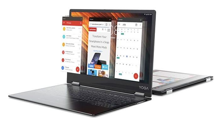 внешний вид планшета трансформера Lenovo Yoga A12