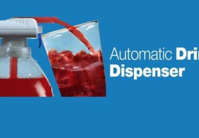 Электрический автоматический дозатор воды