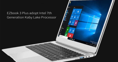 Jumper EZbook 3 Plus — ультрабук 2017 года