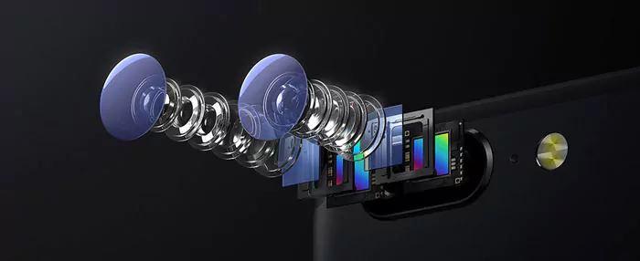 камера с двумя объективами